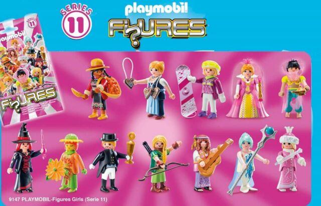 Series 11 Mujeres 12 figuras (1 por tipo) COMPLETA playmobil,serie,9147