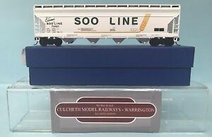 KIT-BUILT-039-HO-039-GAUGE-SOO-73421-SOO-LINE-55-039-COVERED-HOPPER-WAGON-BOXED-RE2-1