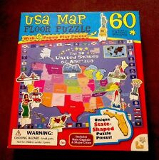 Interactive USA Talking Puzzle Map With Capitals Encyclopedia ...