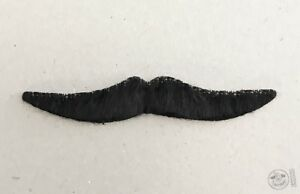 lot-2-fake-black-costume-mustache-adhesive-Stache-theater-facial-hair-Moustaches