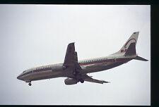 Orig 35mm airline slide Royal Air Maroc 737-400 CN-RMF [212-1]
