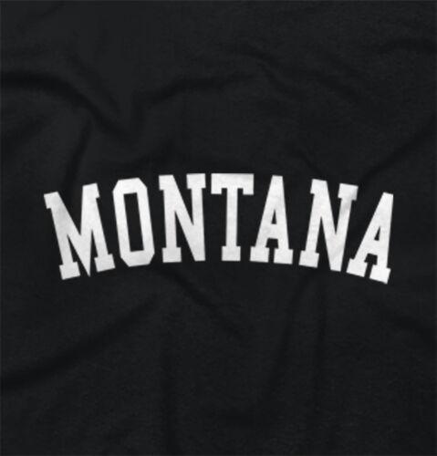 Montana State Shirt Athletic Wear USA T Novelty Gift Ideas Sweatshirt