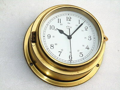 Other Maritime Antiques Vintage Brass Barigo Germany Ships Marine Navigation Clock Yacht Boat Watch Lustrous Surface