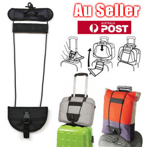 Travel-Luggage-Suitcase-Adjustable-Tape-Belt-Add-A-Bag-Strap-Carry-On-Bungee-AU