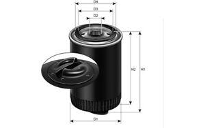 PURFLUX-Filtro-de-aceite-para-SEAT-IBIZA-VW-GOLF-FORD-GALAXY-AUDI-A4-LS553D