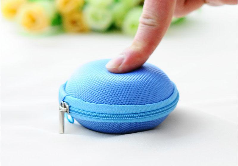 กระเป๋าใส่เหรียญใบเล็ก กล่องใส่หูฟังแฟชั่นเกาหลีทรงแข็งกันกระแทก Earphone Box นำเข้า - พร้อมส่งW875 ราคา89บาท