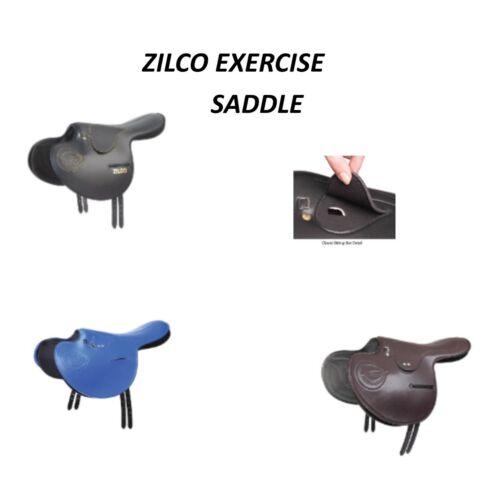Zilco Full Tree Exercise Saddle with closed stirrup bar