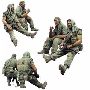 1-35-Resin-US-Marines-Vietnam-Set-of-2-Figures-Unassembled-Unpainted-BL132