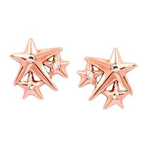 Chrysalis-Charmed-14K-Rose-Gold-Flashed-Brass-Lucky-Star-Stud-Earrings