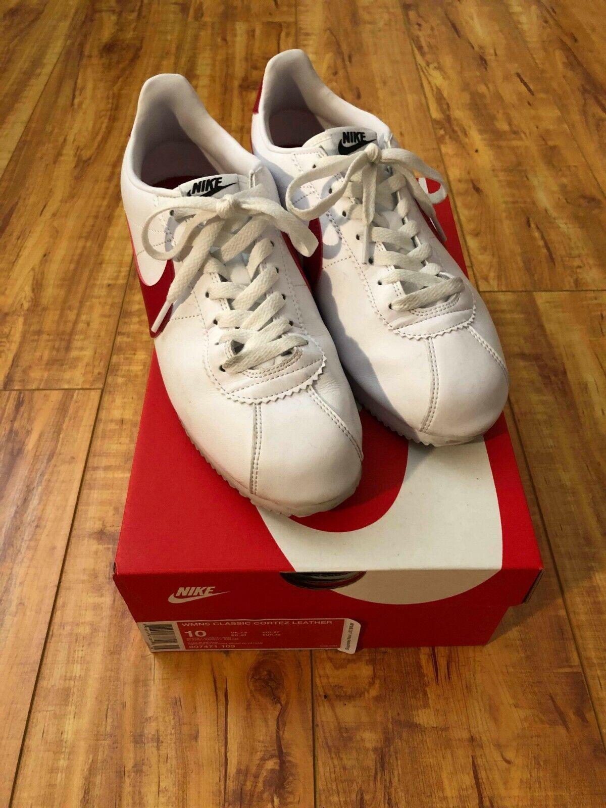Nike Cortez Classic OG - Red bluee White - US Men 8.5 - US Women 10
