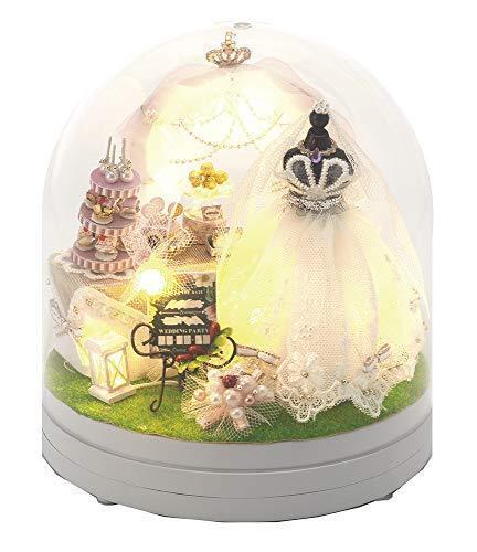 Yanoman Miniatura'T Sogno Matrimonio Miniatura Fatto a Mano Kit Nuovo da