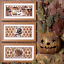 Prairie Schooler Counted Cross Stitch Patterns YOU CHOOSE Santas HALLOWEEN
