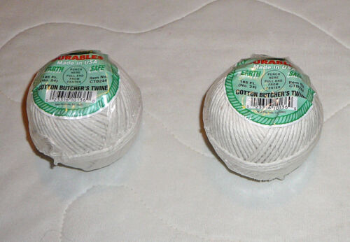 Librett Cotton Butcher/'s Twine Earth Safe Cooking Kitchen Meat String 185/' USA
