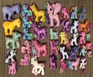Huge My Little Pony Toy Lot G2 G3 Ponies Accessories Mcdonalds Full Size 36 Ebay
