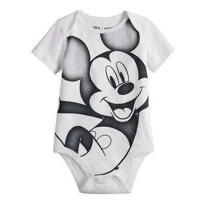 Disney Mickey Mouse Boys Girls Creeper Bodysuit