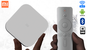 Details about White Xiaomi Mi Box 4 and Box 4c Smart TV With Artificial  Intelligence