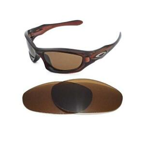 84d818c05ce Image is loading NEW-POLARIZED-BRONZE-REPLACEMENT-LENS-FOR-OAKLEY-MONSTER-