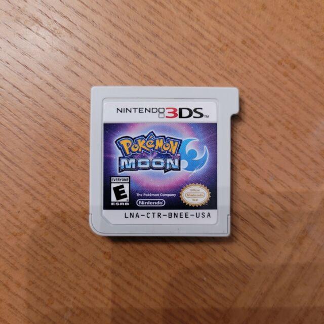 Pokemon Moon - Nintendo 3DS TESTED