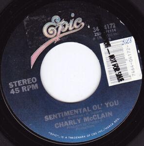 "CHARLY McCLAIN - Sentimental Ol' You 7"" 45"