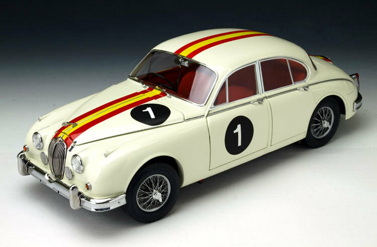 Model -Icons Jaguar Mk2 3.8 1962 Bob Jane Australian Touring 321006 1  18