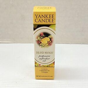 Yankee Candle Island Mango Scented Potpourri Refresher Oil 0 4 Oz New 609032423384 Ebay