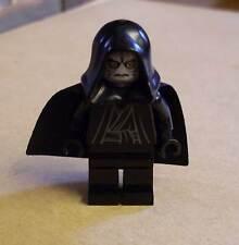 Lego Star Wars Imperator Emperor Palpatine Figur schwarz Hände grau Gesicht Neu
