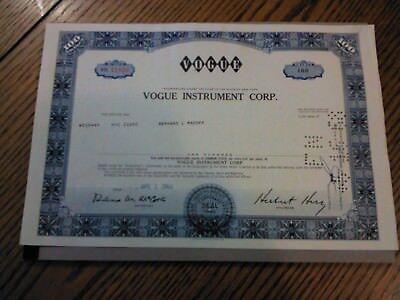 Ltd Investors Overseas Services Warrant 1970 Bernie Cornfeld coupons IOS I.O.S