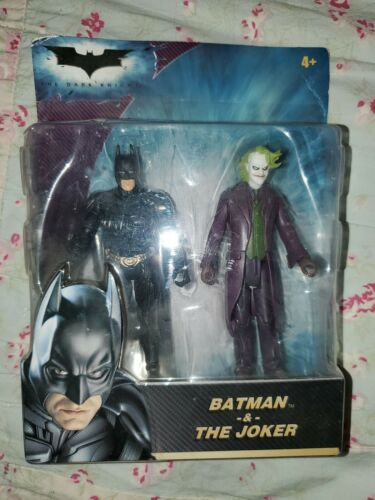 **New** Batman The Dark Knight Figure 2-Pack Batman /& The Joker Heath Ledger