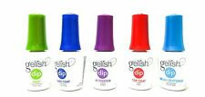 Harmony Nail Gelish DIP Essentials Prep,Base,Activator,Top,Brush Restore ~5ct~