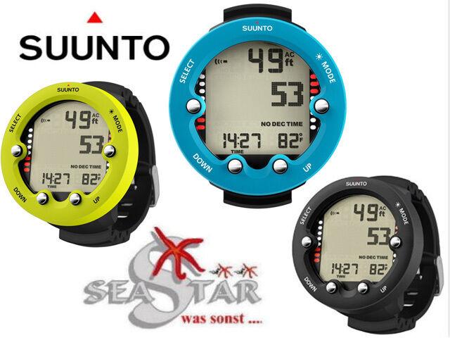 Suunto ZOOP NOVO LIME + Displayschutz Nitroxfähig  Fachhändler Neuware