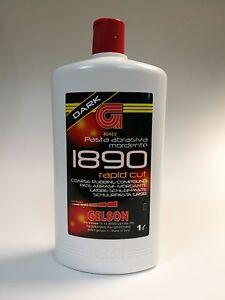 Paste Abrasive Shoe Polish- All GELSON 1890 Rapid Cut Black 40460 Polish Sanding