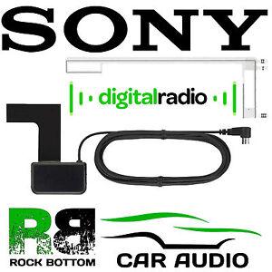 Car Radio Stereo Glass Mount SMB DAB Aerial Antenna for Sony MEX-N6002BD