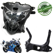 XFMT Motorcycle Black Front Upper Fairing Stay Bracket Compatible with Honda CBR600RR CBR 600RR 2003-2006