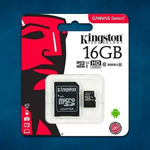 Kingston-Mobile-Phone-Memory-Card-Class-10-16GB-Micro-SD-Card-SDHC-TF-Adapter
