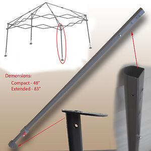 Coleman 12 X 12 Slant Leg Shelter Canopy Extended