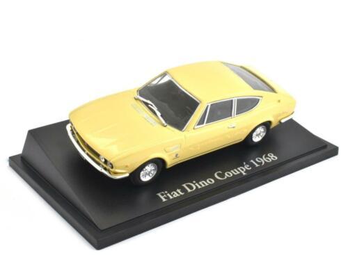 Fiat Dino Coupe Fertigmodell von Norev Maßstab 1:43 aus Die-Cast Metall