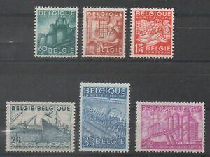 Timbres-de-Belgique-Belgium-ref-COB-N-761-gt-766-Neuf-MNH