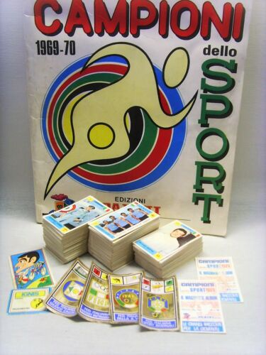 ITALIA-CALCIO-Rec ANQUILLETTI CAMPIONI SPORT 1969-70-PANINI-Figurina n.160