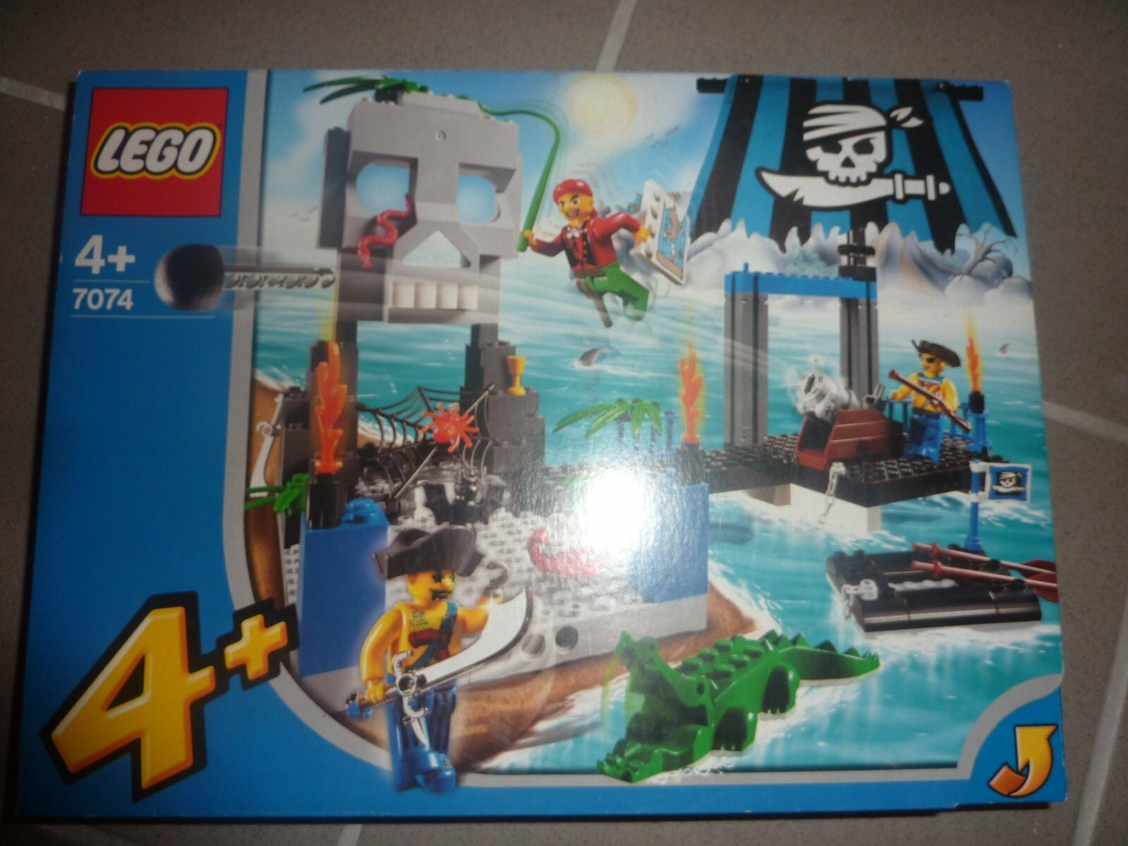 LEGO 4JUNIORS 7074 - Pirateninsel  NEU  OVP