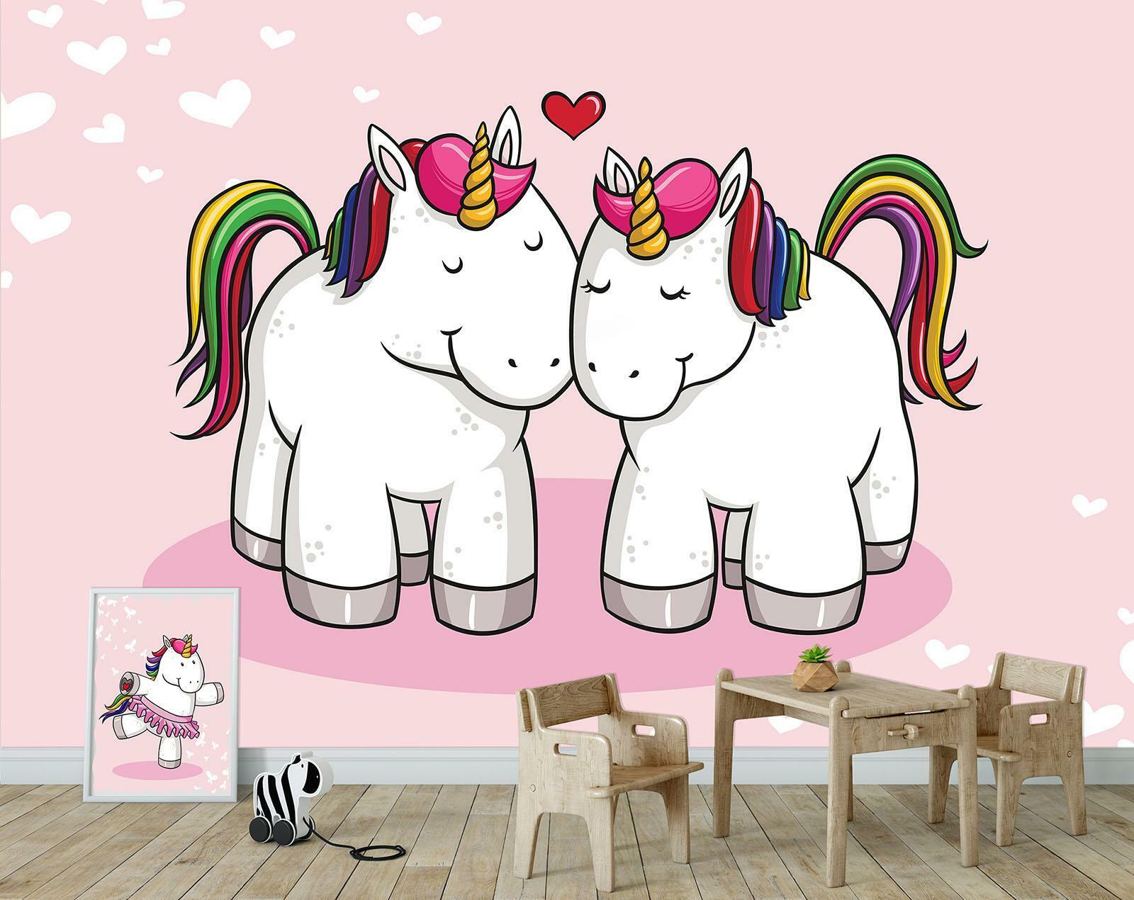Photo Wallpaper Mural Non-woven 11585_VEN Unicorn