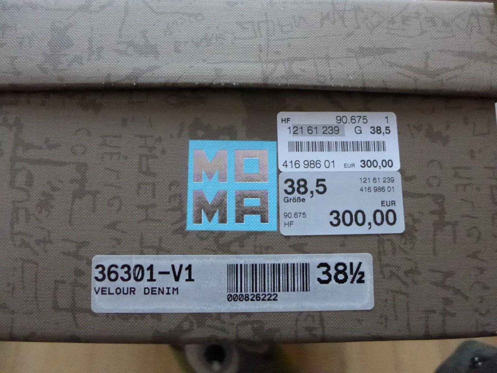 Luxus MOMA Gr 38,5 Stiefelletten NP  Charme Leder w NEU mit Charme  Loft37 High use 1e2fe3