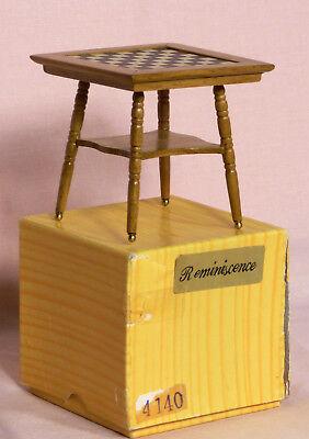 412 Vintage Dollhouse Miniature FANTASTIC MERCHANDISE End Table 2508 MH