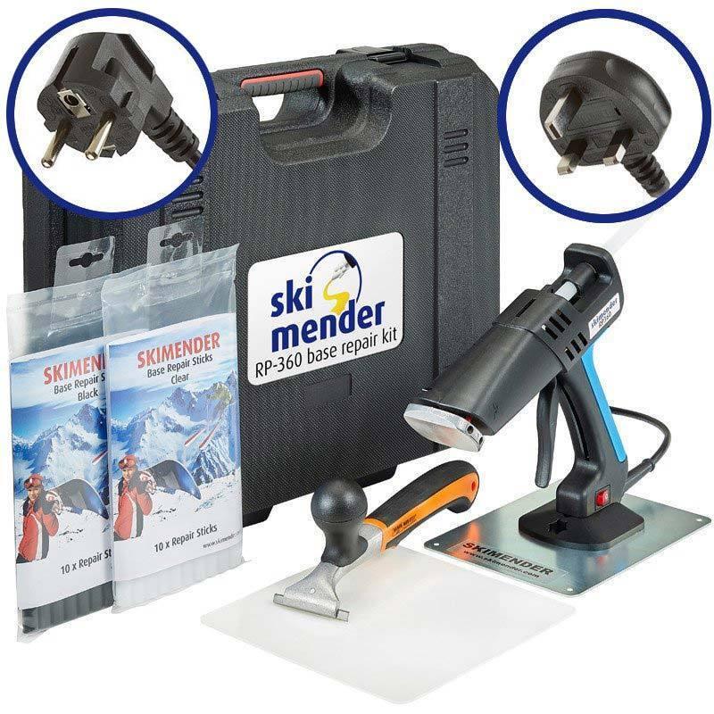 Skimender Professional Ski & Snowboard Base Repair Tool Kit - UK or EU