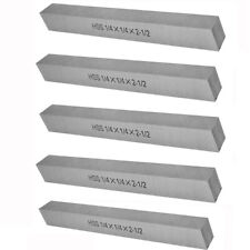 14 X 14 X 2 12 Hss Square Tool Bit Lathe Fly Cutter Pack 5