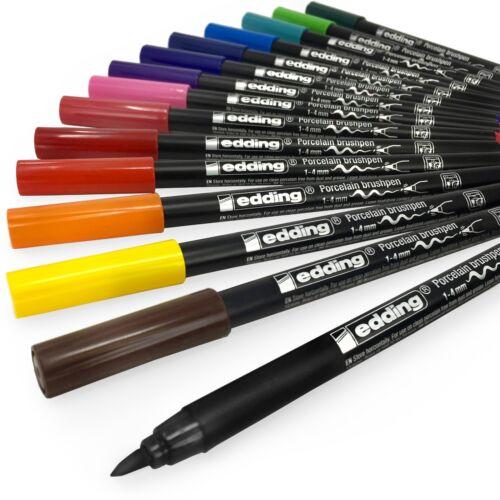 15 Farben Verfügbar Edding 4200 Porzellan Bürste Stift –1-4mm– Einzeln