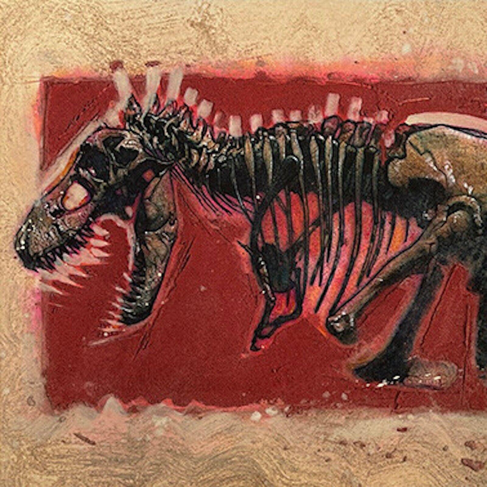 Signed T-rex Giclee Print By Drew Struzan on eBay thumbnail