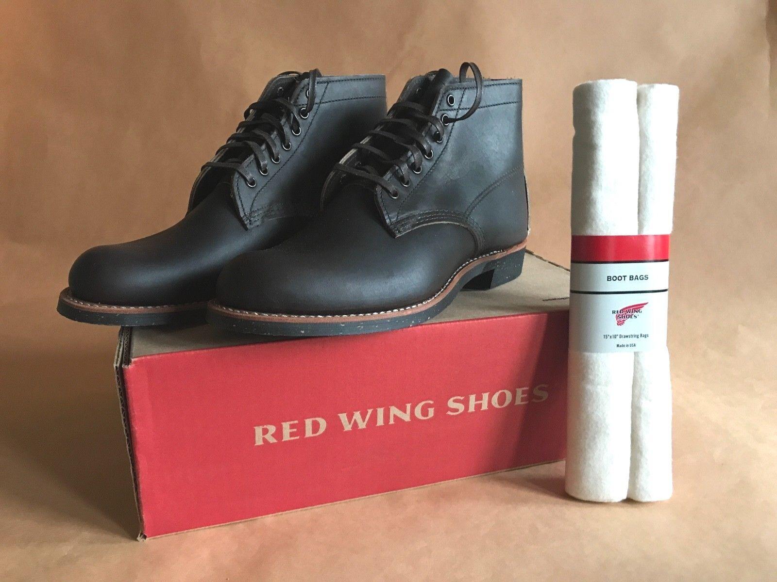 ROT D Wing Schuhes 8061 D ROT Merchant mit Schuhbeutel 9ec0e3