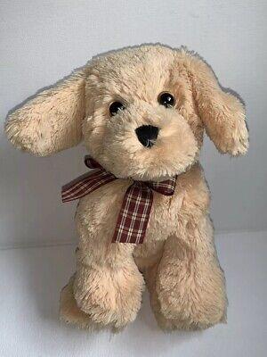 "Ty HONEY Golden Retriever DOG Plush 14/"" Cream Classic 1995 Korea PUPPY Tagged"