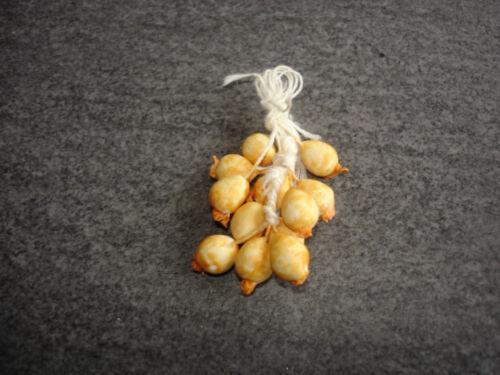 Zwiebelzopf CA 7mmx10 L poupées accessoires 1:12 #834-22