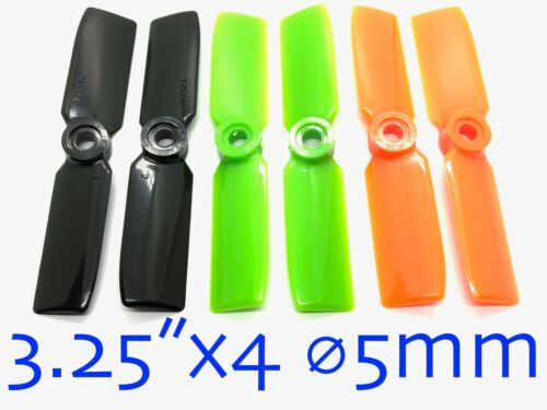 """4pairs 3.25/""""x4 Propeller ⌀5mm Hole For Quadcopter Multicopter 001-05201-03"""